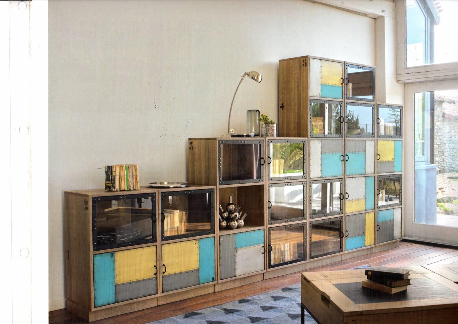 Rangement Pour Le Bois meuble de rangement fonctionnel et modulable pour bureau