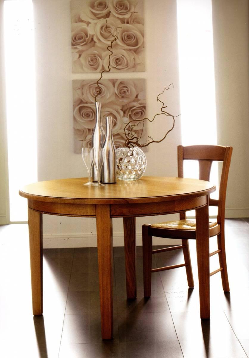 TABLES RONDES , Pied Central , En CHÊNE Ou En NOYER , Près